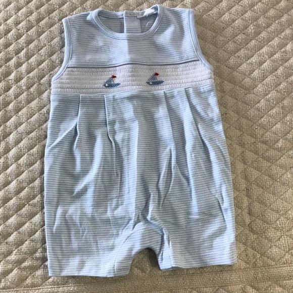 Sailboats Kissy Kissy Baby Boys Pajamas Spring 2018 Print Short Pajamas